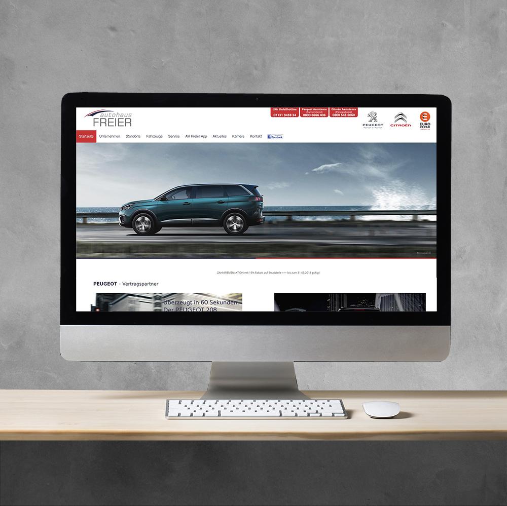 Autohaus Freier Portfolio