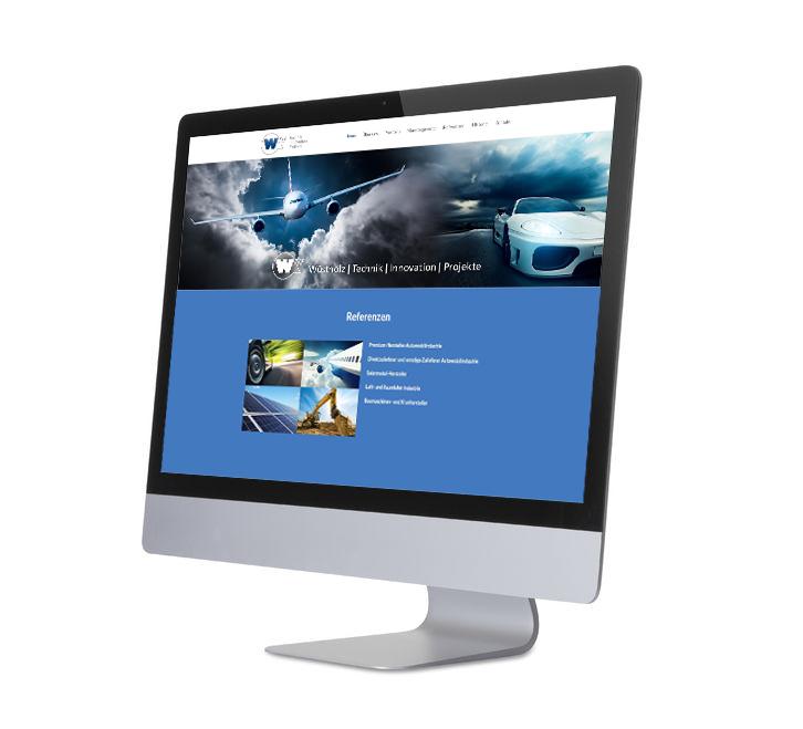 Bildschirm W-Tip