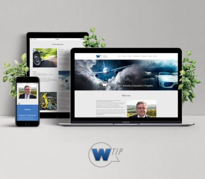 Website W-Tip Technik Innovation Projekte