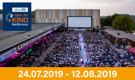 Volksbank Open-Air-Kino-Heilbronn 2019