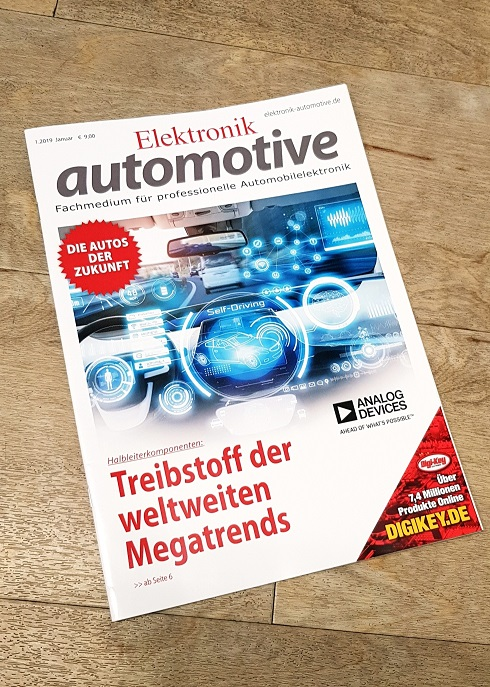 Elektronik Automotive Cover 01-2019